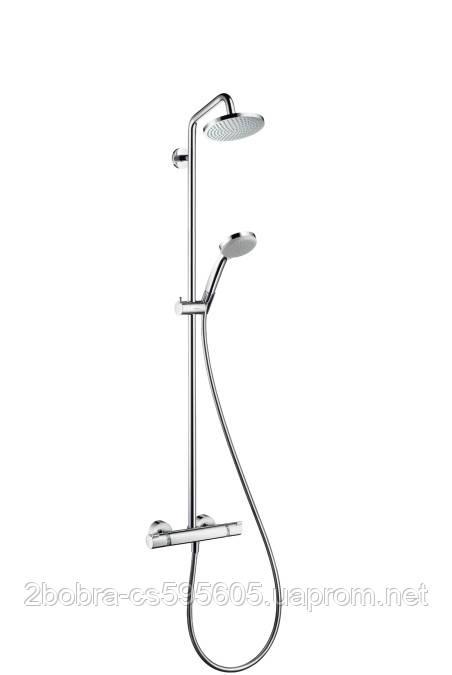 Душевая Система с Термостатом Hansgrohe Croma 160 Showerpipe
