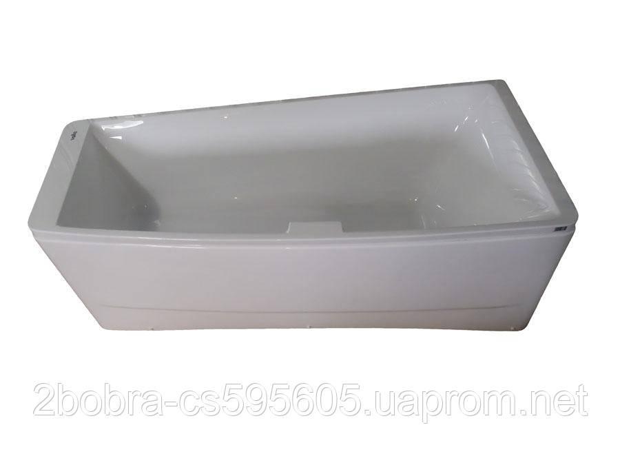 Акриловая Ванна Асимметричная без гидромассажа | TS-102 | 170*75*63 см. Правая Volle