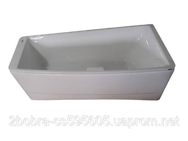 Акриловая Ванна Асимметричная без гидромассажа | TS-102 | 170*75*63 см. Правая Volle, фото 2