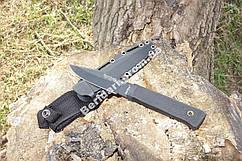 Нож армейский тактический  Беркут ,  мощный клинок +чехол пластиковый