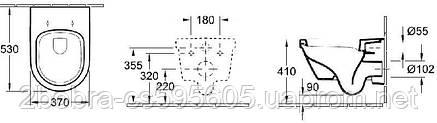 Унитаз Подвесной в Комплекте с Сидением OMNIA ARCHITECTURA, фото 2