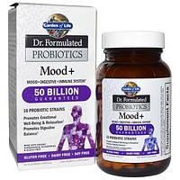 Garden of Life, Dr. Formulated Probiotics, Mood + , 60 Veggie Caps (Ice)