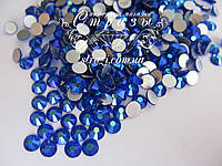Стразы ss16 Sapphire AB 1440шт. (3,8-4,0мм)