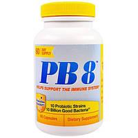 Nutrition Now, PB 8, поддержка иммунной системы, 60 капсул