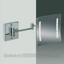 Косметическое Настенное Зеркало 470-200x200, хром. Windisch