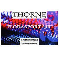 Thorne Research, FloraSport 20B, 30 вегетарианских капсул