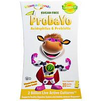 Vitamin Friends, Probayo, ацидофилин и пребиотик со вкусом ванильного йогурта, 20 мишек