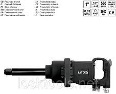 """Гайковерт пневматический ударный 1"""" 2600 Nm 560 l/min 0.63 MPa YATO (YT-0960), фото 3"""