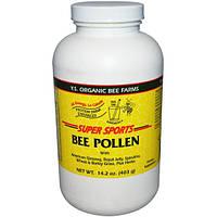 Y.S. Eco Bee Farms, Суперспорт, пчелиная пыльца, белковый усилитель напитков, 14,2 унции (403 г)