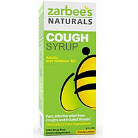 Zarbees, All-Natural Cough Syrup, Extra Strength, Honey Lemon, 4 fl oz