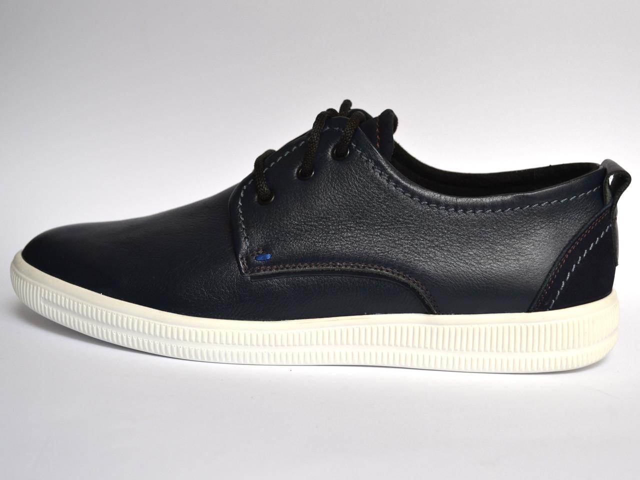 f4245692 Кожаные кроссовки мужские слипоны Rosso Avangard OrigSlipy Black&White  черные. -