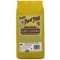 Bobs Red Mill, Золотая мука из льняного семени крупного помола, 16 унций (453 г)