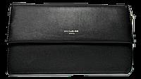 Стильный женский клатч Devid Jones черного цвета KLK-220861