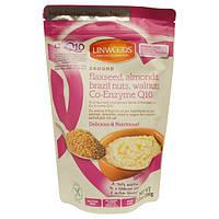Linwoods, Диетическая добавка из льняных семян, миндаля, бразильского ореха, грецкого ореха и коэнзима Q10, 7,1 унций (200 г)