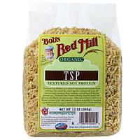 Bobs Red Mill, Органический текстурированный соевый протеин TSP, 13 унций (368 г)