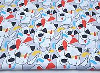 Детское постельное белье Разноцветные ушки (100% хлопок)