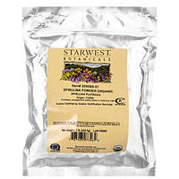 Starwest Botanicals, Спирулина-порошок, органический, 1 фунт