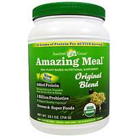 Amazing Grass, Amazing Meal, оригинальная смесь, 25,1 унции (714 г)