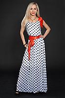 Платье шифоновое мод 306-3 размер 44-46,46-48