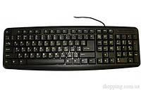 Клавиатура Codegen 1808 slim PS/2, Black