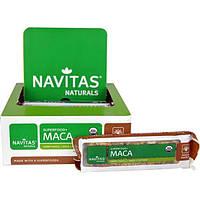 Navitas Organics, Суперпродукт+ мака, батончики-суперпродукт с макой, кленовым сиропом и орехами, 12 батончиков, 16,8 унций (480 г)