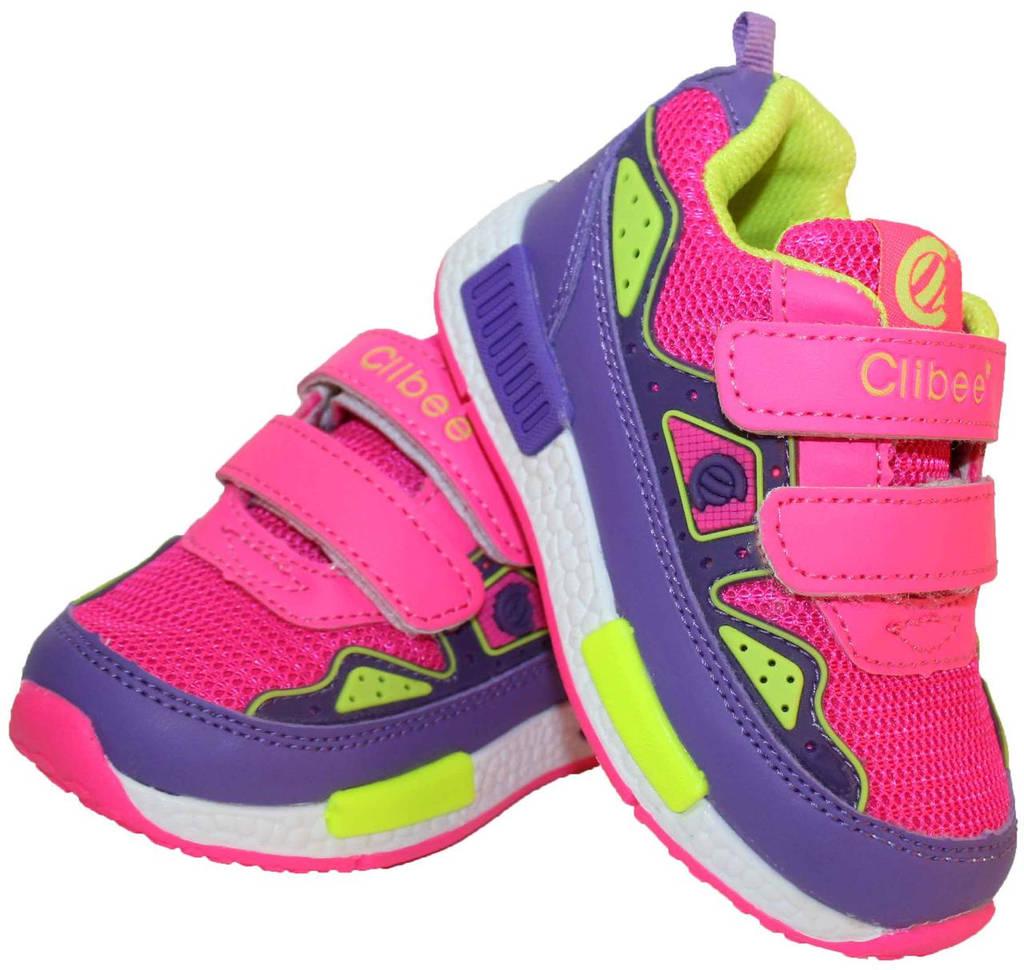 Детские кроссовки для девочки Clibee Польша размеры 21-26