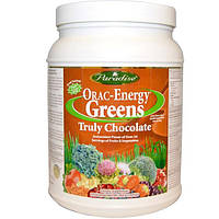 Paradise Herbs, Настоящий зеленый шоколад Энергия ORAC, 12.8 унций (364 г)