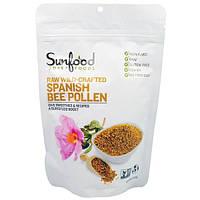 Sunfood, Сырая Пыльца Испанских Диких Пчел, 8 унций, (227 г)