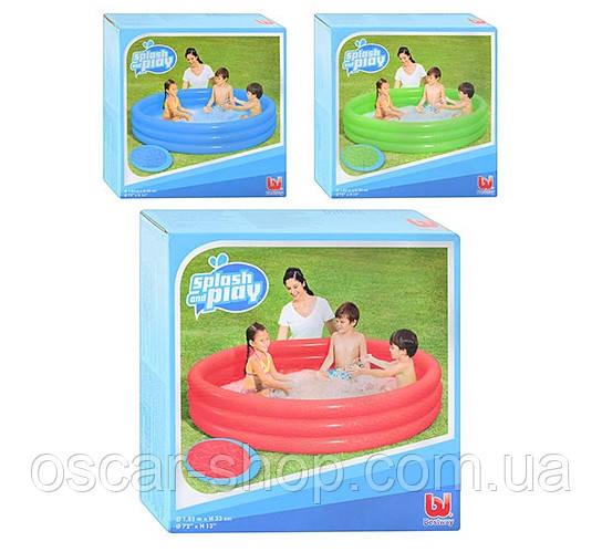 Детский круглый бассейн Bestway 480л