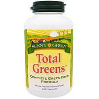 Sunny Green, Только зелень , 120 таблеток