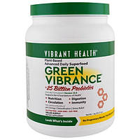 Vibrant Health, Green Vibrance +25 Billion Probiotics, Version 16.0, 35.27 oz (1 kg)