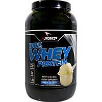 AI Sports Nutrition, 100% белок молочной сыворотки, Ванильное мороженое, 2 фунта (924 г)