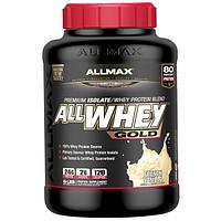 ALLMAX Nutrition, Смесь изолята сывороточного протеина со вкусом французской ванили AllWhey Gold, 2,27 кг (5 фунтов)