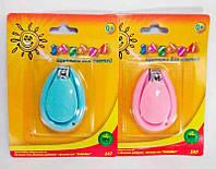 """Щипчики для ногтей 147 (5) 2 цвета, """"ЗАБАВА"""""""