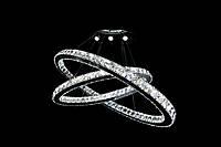ХРУСТАЛЬНАЯ ЛЮСТРА CRISTALIS PREMIUM LIGHT  c LED-чипами Samsung 920мм 2 овальных кольца