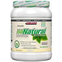 ALLMAX Nutrition, Исонатурал, изолят сывороточного протеина, ваниль, 15 унций (425 г)