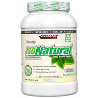 ALLMAX Nutrition, Изонатурал, изолят сывороточного протеина, ваниль, 2 фунта (907 г)
