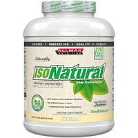 ALLMAX Nutrition, IsoNatural, Whey Protein Isolate, Vanilla, 80 oz (2.27 kg)