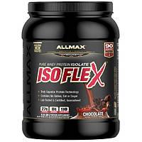 ALLMAX Nutrition, Изофлекс, изолят сывороточного протеина, шоколад, 0,9 фунта (425 г)