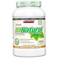 ALLMAX Nutrition, Изонатурал, изолят сывороточного протеина, шоколад-арахисовое масло, 2 фунта (907 г)