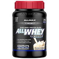 ALLMAX Nutrition, AllWhey Classic, Белковая Смесь с Изолятом Сывороточного Протеина, Французская Ваниль, 2 фунта ( 907 г)