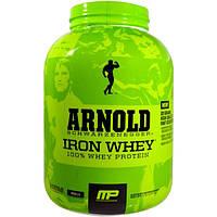 Arnold, Iron Whey, 100% сывороточный протеин, ваниль, 5 фунтов (2,27 кг)