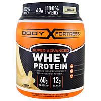 Body Fortress, Super Advanced Whey Protein Порошок, Vanilla, 2 lbs (907 g)
