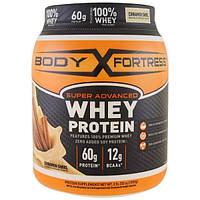 Body Fortress, Super Advanced Whey Protein Порошок, Cinnamon Swirl, 2 lbs (907 g)