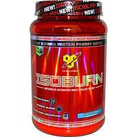 BSN, Isoburn, Комплекс изолята сывороточного белка для усиления метаболизма со вкусом ванильного мороженного, 1,32 фунта (600 г)
