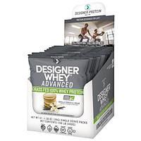 Designer Protein, Дизайнерская сыворотка, улучшенный 100% сывороточный белок из молока коров, выкормленных на траве, со вкусом ванильного печенья с