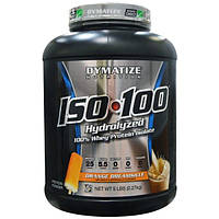 Dymatize Nutrition, ISO 100 100% гидролизованный изолят сывороточного протеина, со вкусом апельсина, 5 фунтов (2,27 кг)
