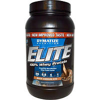 Dymatize Nutrition, 100% сывороточный протеин Elite с насыщенным шоколадным вкусом, 2 фунта (907 г)