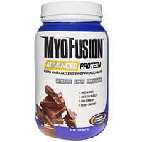 Gaspari Nutrition, MyoFusion усовершенствованная формула протеина, шоколад, 2 фунта (907 г)