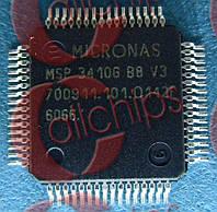 Микропроцессор Micronas MSP3410G-QI-B8-V3 QFP64